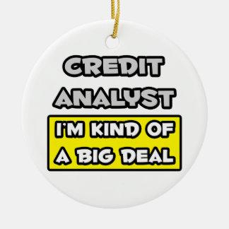 Analista de crédito. Soy un poco una gran cosa Adornos De Navidad