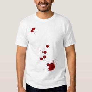 Analista de la salpicadura de la sangre remera