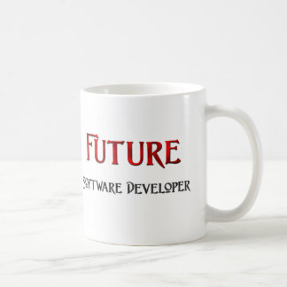 Analista de programas informáticos futuro taza básica blanca