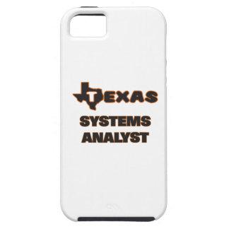 Analista de sistemas de Tejas iPhone 5 Cárcasa