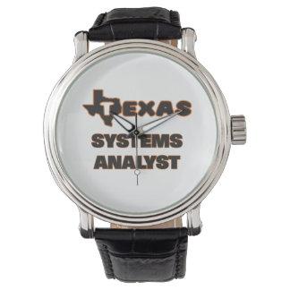 Analista de sistemas de Tejas Relojes De Mano