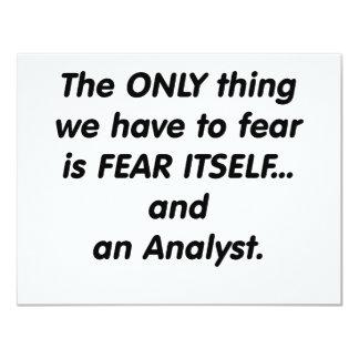analista del miedo comunicado personalizado