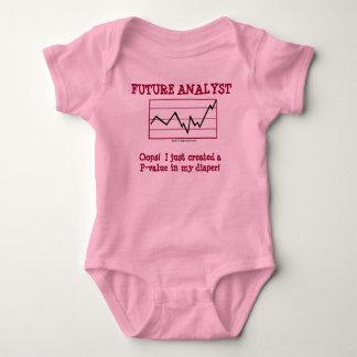 Analista futuro body para bebé