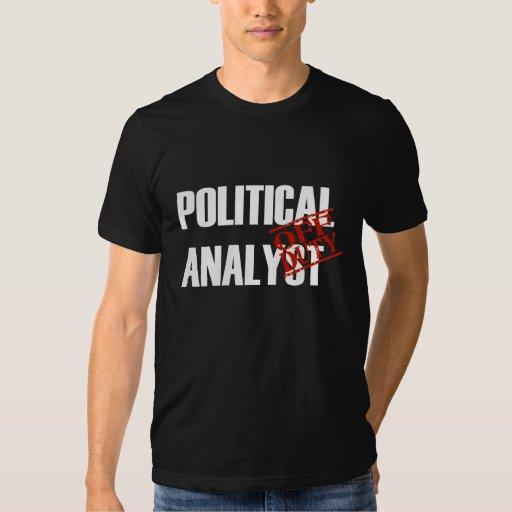 Analista político FUERA DE SERVICIO Poleras