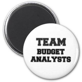 Analistas del presupuesto del equipo imán redondo 5 cm
