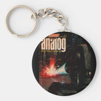 Analog - 1966.0410_Pulp Art Basic Round Button Keychain