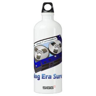 Analog Era Survivor! Aluminum Water Bottle