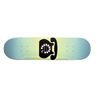 analog phone custom skate board
