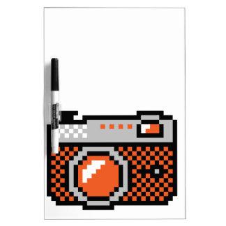 analog photo camera Dry-Erase board