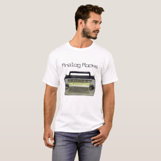 Analog Rocks T-Shirt