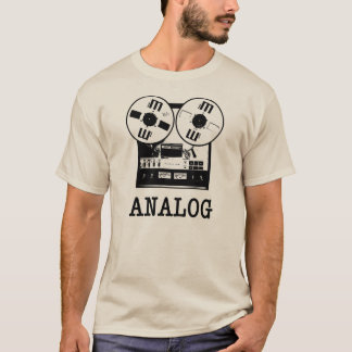 ANALOG TAPE REEL T-Shirt