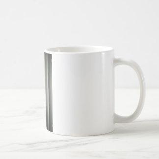 Analog to silver gelatin 35mm film photo of white  coffee mug