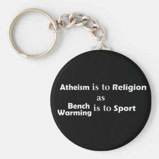 Analogía del ateísmo - llavero