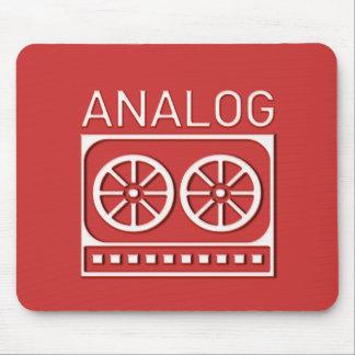 Análogo (casete) mouse pads
