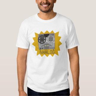 ANÁLOGO: Magnetófono de carrete: Camiseta Remeras