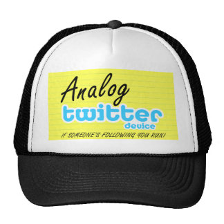 AnalogTwitterDeviceYelWide Trucker Hat