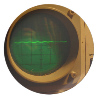 Analogue Oscilloscope 1964 Plate