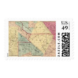 Analy, Santa Rosa, Vallejo, and Petaluma Townships Postage