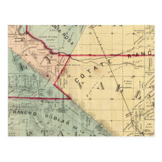 Analy, Santa Rosa, Vallejo, and Petaluma Townships Postcard