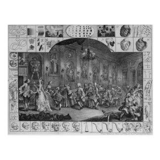 Analysis of Beauty, Plate II, 1753 Postcards