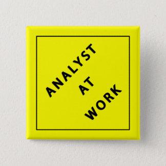 Analyst At Work Button