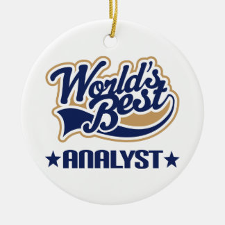 Analyst Gift Ornament