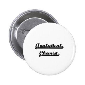Analytical Chemist Artistic Job Design 2 Inch Round Button