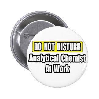 Analytical Chemist At Work 2 Inch Round Button
