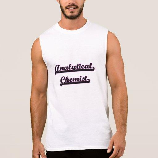 Analytical Chemist Classic Job Design Sleeveless T-shirt Tank Tops, Tanktops Shirts