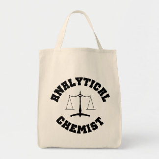 Analytical Chemist Tote Bag