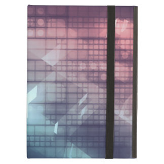 Analytics Technology with Data Moving iPad Air Case