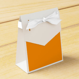 Anaranjado oscuro caja para regalo de boda