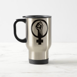 Anarcha feminism travel mug