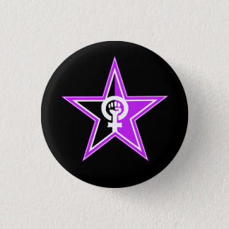 Anarcha-feminist Revolutionary Button