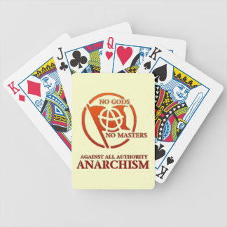 ANARCHISM BICYCLE PLAYING CARDS