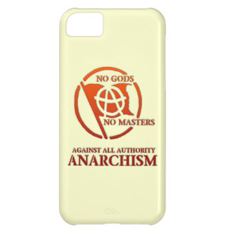 ANARCHISM iPhone 5C COVER