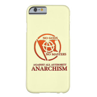 ANARCHISM BARELY THERE iPhone 6 CASE