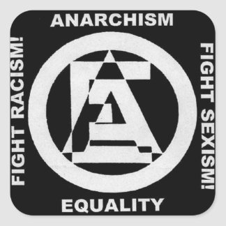 anarchism equality 1 sticker