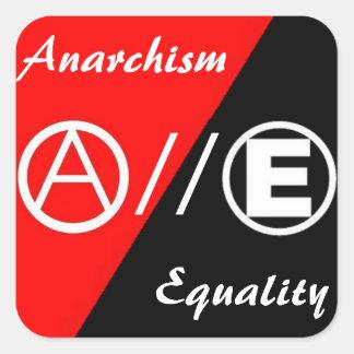 anarchism equality sticker
