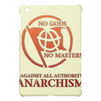 ANARCHISM COVER FOR THE iPad MINI