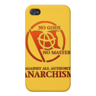 ANARCHISM iPhone 4 COVER