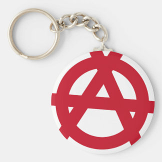 Anarchism Keychain