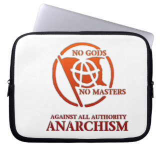 ANARCHISM LAPTOP COMPUTER SLEEVE