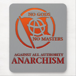 anarchism mouse pad