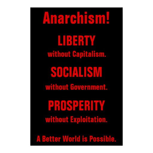Anarchism! poster