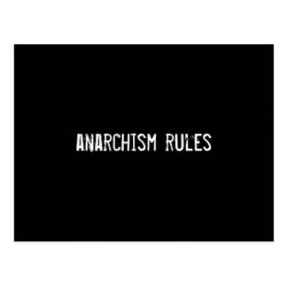 anarchism rules postcard