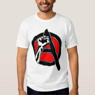 Anarchism (white shirt) tshirt
