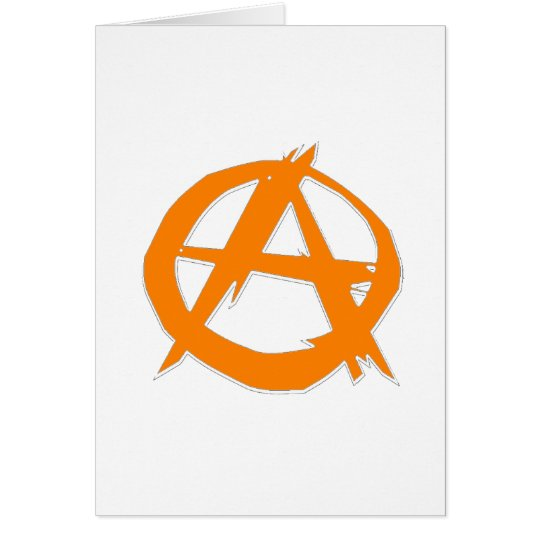 Anarchist and freedom card