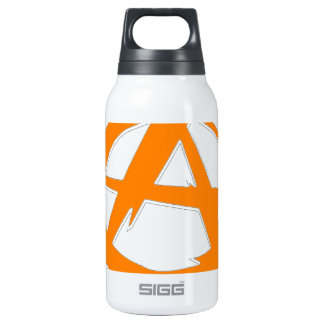 Anarchist and freedom insulated water bottle
