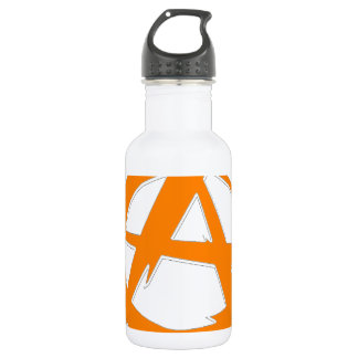 Anarchist and freedom water bottle